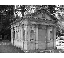 Boutlon Mausoleum Photographic Print
