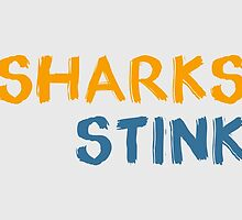 Sharks Stink #2 by hellosally