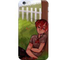 sleepy tomato picker iPhone Case/Skin