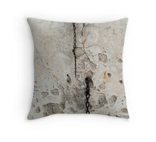 Chains and patterns Throw Pillow