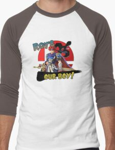 Roy's Our Boy! Men's Baseball ¾ T-Shirt