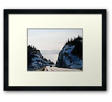 The Road to Nipigon Framed Print