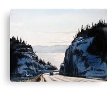 The Road to Nipigon Canvas Print