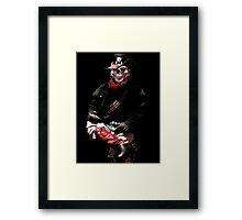 Soldier Of The Underworld Framed Print