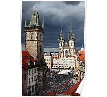 Old city of Prague Poster