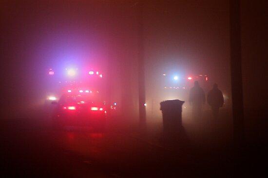 Ambulances & Fog by Daniel Owens
