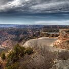 1st View of Palo Duro Canyon by Terence Russell