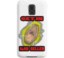 Get In Mah Belleh Yellow Samsung Galaxy Case/Skin