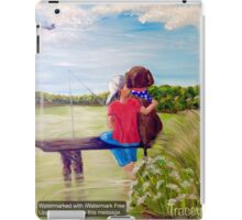 Head In the Clouds, Pole In the Water, Dog In His Heart iPad Case/Skin