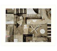 Happening and Selection No.06-30 Art Print