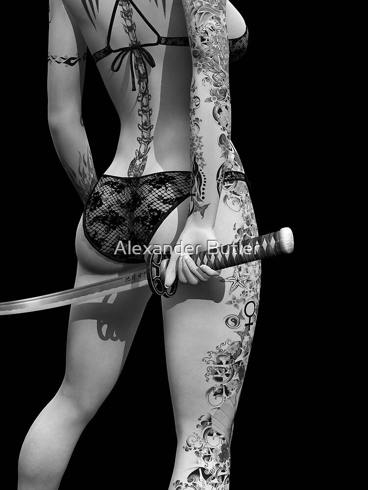 Dangerously Sharp by Alexander Butler