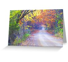 On A Lovely Fall Day Greeting Card