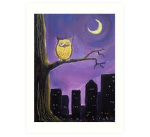 'Owl City' Art Print