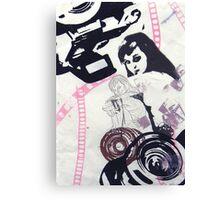 CJ 35mm Neg. 3 Canvas Print