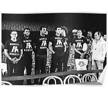 Thrilla in Manila. Gorilla T Shirt. Poster