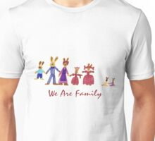 Easter Bunny Family Unisex T-Shirt