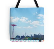Coney island Skyview Tote Bag