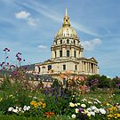 Hotel des Invalides Paris - Napoleon's Tomb by Marita Sutherlin