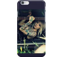 Junkyard Claustrophobia  iPhone Case/Skin