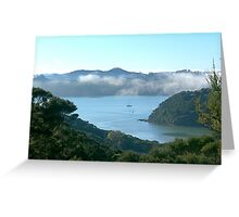 The fog has lifted........! Greeting Card