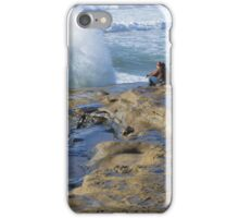 Watching The Waves ~ Sunset Cliffs, California, USA (see large view) iPhone Case/Skin