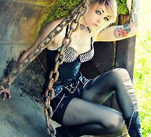 Junkyard Chains by LookingGImagery