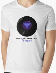 Magic 8 Ball Mens V-Neck T-Shirt
