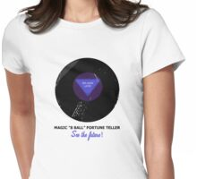 Magic 8 Ball Womens Fitted T-Shirt
