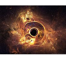 black hole Photographic Print