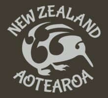 KIWI | New Zealand | Aotearoa by piedaydesigns