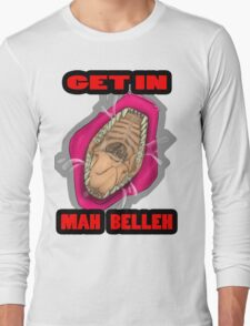 Get In Mah Belleh Pink Long Sleeve T-Shirt