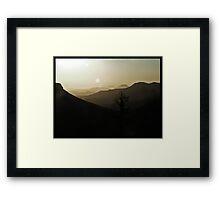 Namib Dusk Framed Print