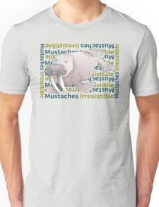 Cartoon Walrus  | Mustaches Irresistible Unisex T-Shirt