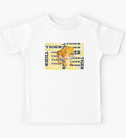 Hello Tiger Kids Tee