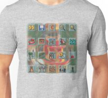 Roller Coaster Tycoon Icons Unisex T-Shirt