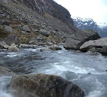 Mountain Stream by Tags