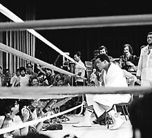 Thrilla in Manila. Ringside Interview. by cjkuntze