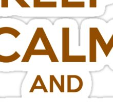 KEEP CALM - Keep Calm and Stand Out // Goofy Movie Powerline Sticker