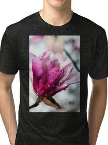 One Pink Magnolia Tri-blend T-Shirt