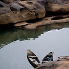 Canoes on the Senegal by kevomanno