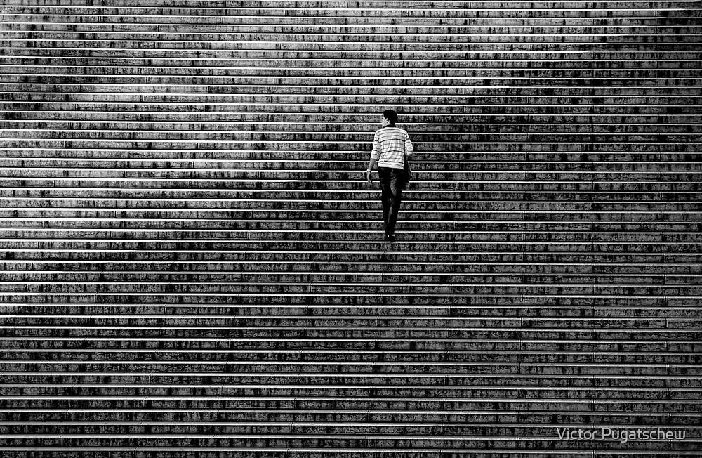 Up to Trocadero by Victor Pugatschew