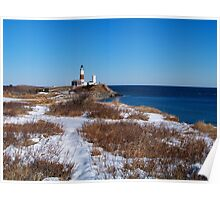 Montauk Point Lighthouse Poster