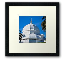 Conservatory of Flowers, San Francisco Framed Print