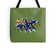 New Zealand flag comic style star  Tote Bag
