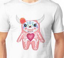 Pink Dia de los Muertos Monster  Unisex T-Shirt