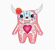 Pink Dia de los Muertos Monster  T-Shirt