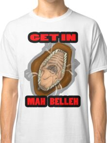 Get In Mah Belleh Brown Classic T-Shirt