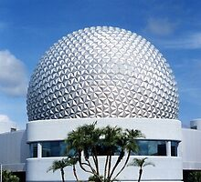 Retro Epcot Ball as seen in 1982 by Retroadventurer