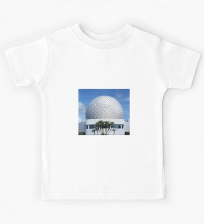 Retro Epcot Ball as seen in 1982 Kids Tee