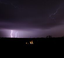 Winter Lightning by Dennis Jones - CameraView